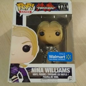 Funko Pop Tekken Nina Williams Exclusive